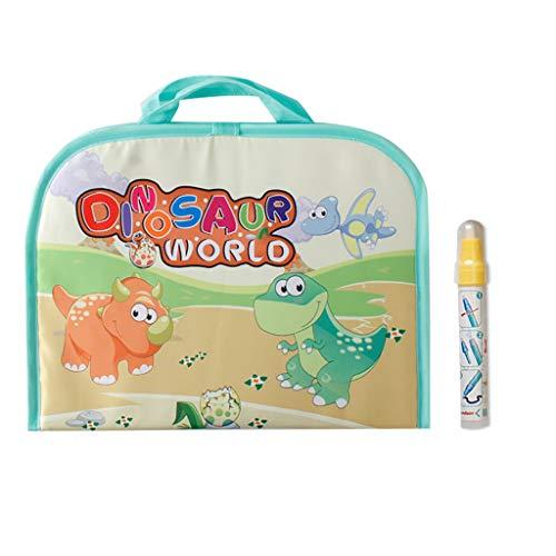 Gaddrt Wiederverwendbar Magischer Wasserstift Kindererziehung Magic Water Pen Painting Farbe Graffiti Mat Board Toy 47x30cm (B)