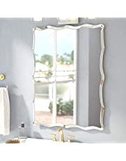 Quality Glass Frameless Glass Wall Mirror (Silver, 18 x 24 Inch)
