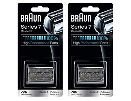Braun Series 7Combi 70S Cassette Replacement Pack - 2 pk