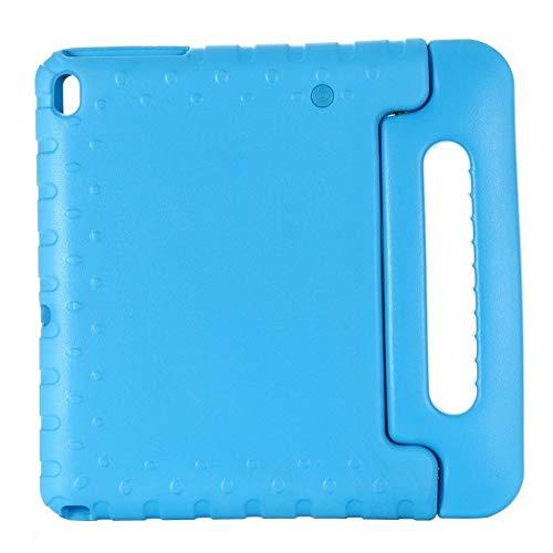 QiuKui Tab Cover For Lenovo Tab E10 TB-X104F, Kids Shockproof Full Body Handle Stand Cover For Lenovo Tab E10 TB-X104F 10.1 Inch (Color : Blue)