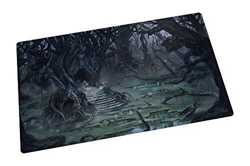 Ultimate Guard Unisex– Erwachsene Spielmatte Lands Edition II Sumpf, 61 x 35 cm