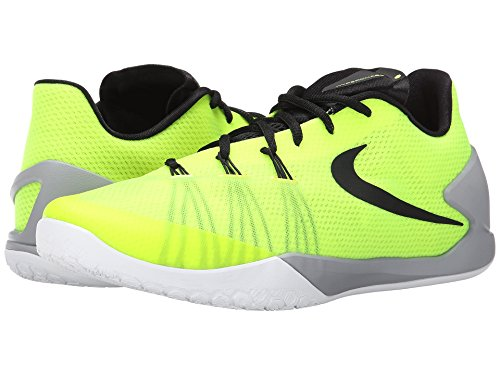 Nike Hyperchase - Zapatillas de baloncesto para hombre - 705363 810, 11.5 M US, blanco, anaranjado, gris