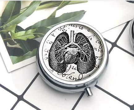 Antike Lungen-Pillendose