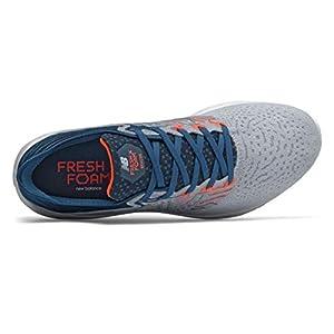 New Balance Men's Fresh Foam Beacon V3 Running Shoe, Light Cyclone/Rogue Wave, 11
