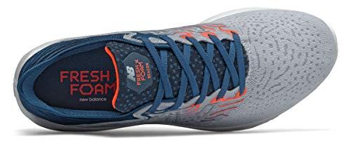 New Balance Men's Fresh Foam Beacon V3 Running Shoe, Light Cyclone/Rogue Wave, 10