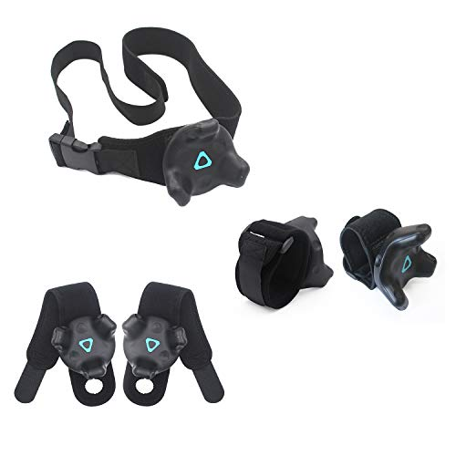 Tracker Belt + 2 Armband-Riemen + 2 Palm-Riemen Full Body Tracking VR Bundle für HTC Vive Trackers