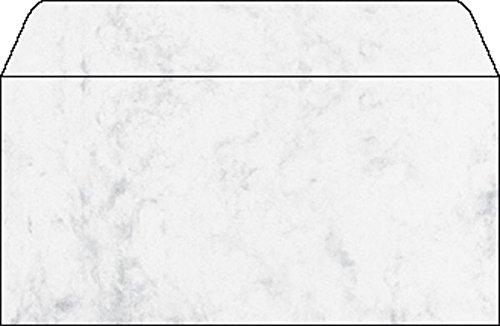 Sigel Briefumschläge Designpapier Marmor grau VE=50 Stück