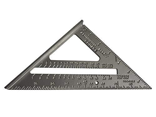 Silverline Tools 734100 - Escuadra de aleación de aluminio 185 mm