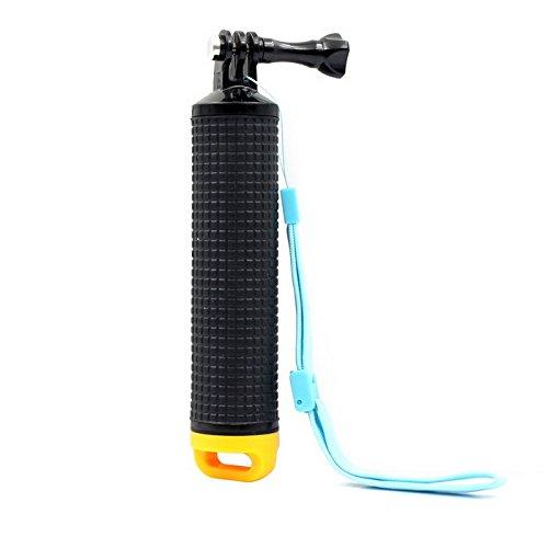 O RLY schwimmender Handgriff Floating Hand Grip Mount für für GoPro Hero 2 3 4 5 6 SJCAM cappark/Akaso/Apeman Sport Action Kamera-Halterung Zubehör- Gelb