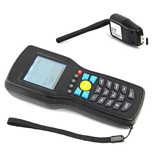 YoLiy Lecteurs de Codes Barres Lecteur Terminal Data Collector Barcode Scanner Portable sans Fil Rapide Balayage Précis (Color : Black, Size : 17.5x7x3.6cm)