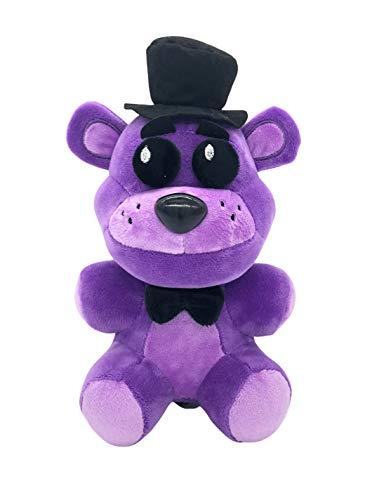FNAF Plushies - All Characters(8'') - (Shadow Freddy) - Five Nights Freddy's Plush: Chica, Springtrap, Bonnie, Marionette, Foxy Plush - Freddy Plush-FNAF Plush-Kid's Toy-Stuffed Animal