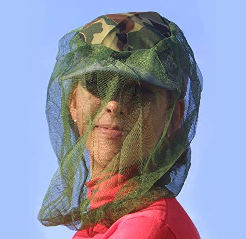 Relags No-See-Um - Mosquitera, color verde, talla única