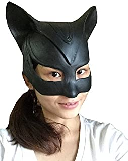 rubber catwoman mask