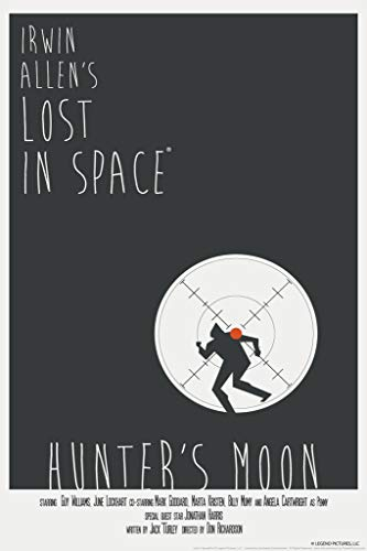 Lost In Space Hunters Moon by Juan Ortiz Art Print Poster 12x18
