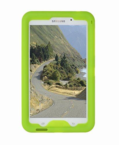 BobjGear - Carcasa resistente para tablet Samsung Galaxy Tab 4 7-pulgadas, modelos Wi-Fi (SM-T230), 3G (SM-T231), 4G (SM-T235), y otros modelos SM-T23, Tab 4 Nook 7- funda protectora - (Verde)