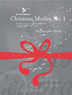 Partitions Jazz & Blues Advance Music Middleton A. – Christmas Medley No. 1 – 2 flutes and Clarinet la flauta travesera