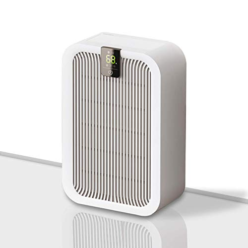 JIAWANSHUN Smart Dehumidifier 1000ml Water Tank 300sq.ft Quiet Dehumidifier for Bedroom Bathroom Closet Office Grow Room (110V US plug)