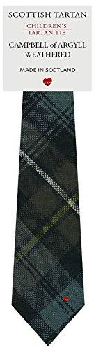 I Luv Ltd Garçon Tout Cravate en Laine Tissé et Fabriqué en Ecosse à Campbell of Argyll Weathered Tartan