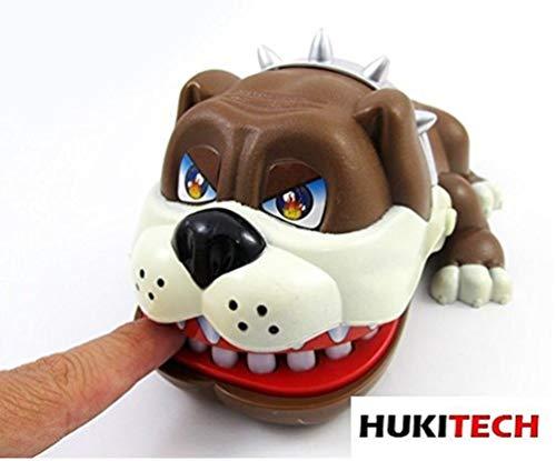 Bully Geschiktheidsspel - hond bij de tandarts - actiespel leerspel puppy kinderen dokter spel partyspel gezelschapsspel familiespel (merk HUKITECH)