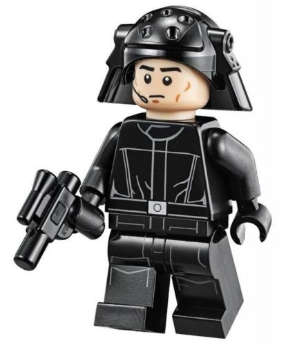Star Wars Lego Minifigure - Imperial Navy Death Star Trooper with Weapon