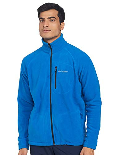 Columbia Herren Steens Mountain Half Snap Pullover,Bright Indigo, L