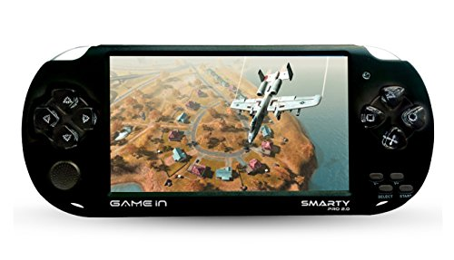 Mitashi Game In Smarty Pro 2.0 Plus and Play Handheld Gaming Console with 3000 In-built (Black)