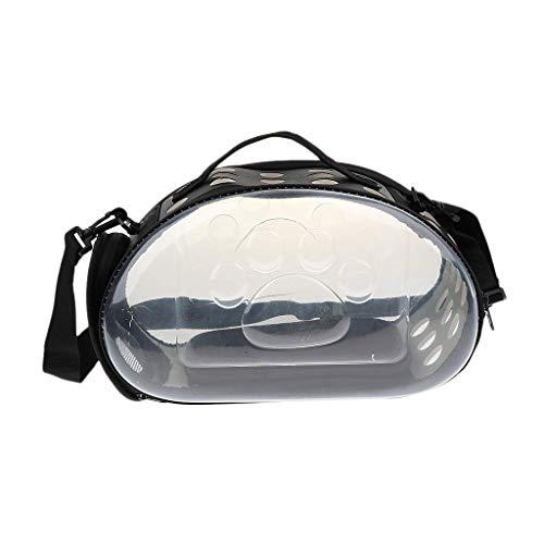 Backbayia Transporttasche aus weichem Netzgewebe für Hunde und Katzen, Handtasche für Wandern, Camping