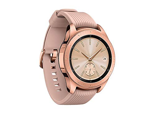 Samsung Galaxy Watch smartwatch (42mm, GPS, Bluetooth, Unlocked LTE) – Rose Gold (US Version with Warranty) 2