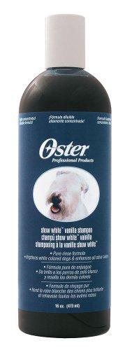 Oster 84926 Vanilleshampoo Hund Show White, Konzentrat 16:1, 473 ml
