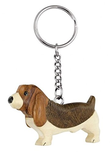 """Ten SCHLÃœSSELANHÃ""""NGER Mini - Hund - ohne Box cod.EL34517 cm 7,5x5x1,5h by Varotto & Co."""