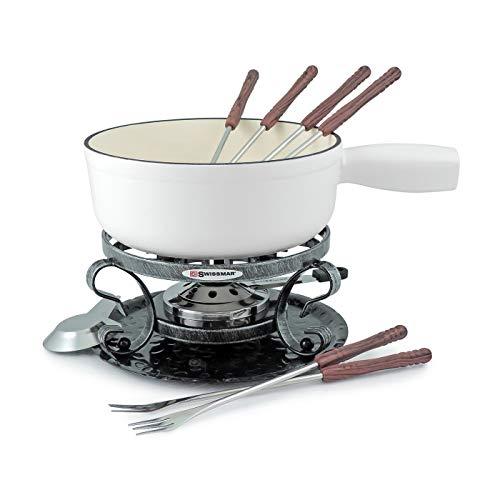 Swissmar KF-66522 Lugano Other Cookware, 2QT, Matte White