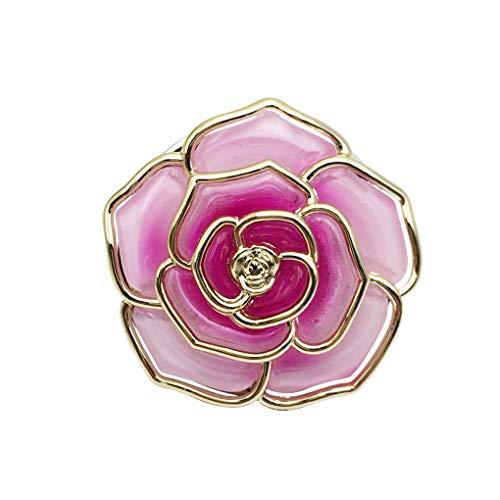 Qinghengyong Faltbarer Beutel Geldbeutel-Haken Tischseite Durable-Haken-Aufhänger Blumenhandtaschen-Halter Unisex Rosen-Form