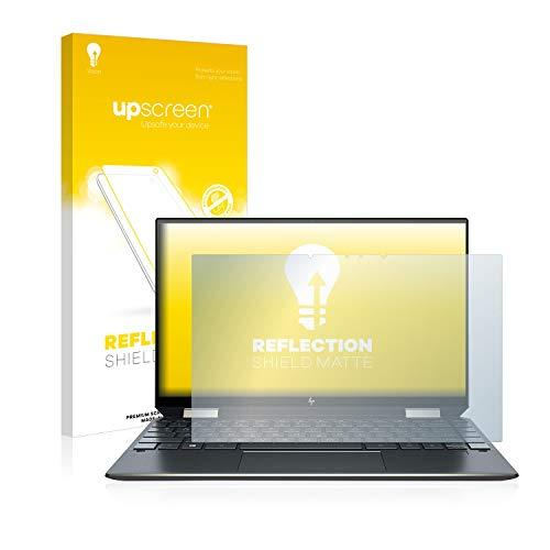 upscreen Entspiegelungs-Schutzfolie kompatibel mit HP Spectre x360 13-aw0031ng – Anti-Reflex Bildschirmschutz-Folie Matt