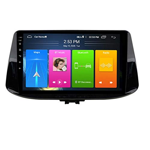 Android 8.1 Autoradio per Il 2017-2018 Hyundai I30 Car Stereo GPS Navigazione Touch Display Auto Media Player Double DIN Head Unit Supporto WiFi Controllo del Volante WiFi(Color:WiFi:1+16G)