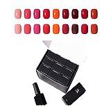 Adhere Kit de 9 piezas 7.3ML / pc Esmalte de uñas semipermanente Esmalte de uñas en gel Empapa del kit de uñas de gel UV LED Set 10