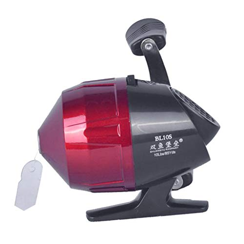 Tongina Alloy Fishing Reel Saltwater Closed Face Under-Spin Reel 3.0:1 Red