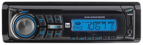 DUAL XD1228 Single-DIN In-Dash CD Receiver