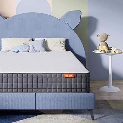 Twin Mattress- Sweetnight Breeze Twin Size Mattress, Medium Firm Memory Foam Mattress for Sleep Cool...