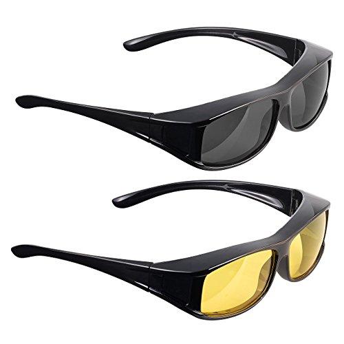 PEARL Sonnenbrille: Überziehbrillen