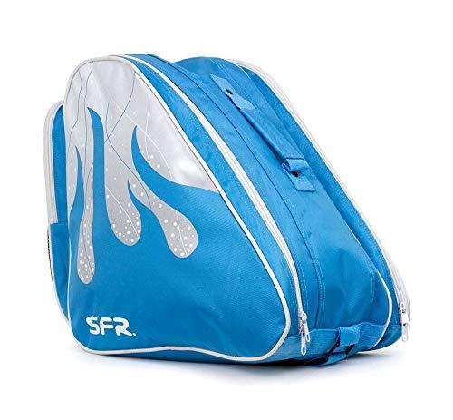 Sfr Skates PRO Ice Bag per Bambini Pattinaggio Giovani Unisex, BAG340, Blu,...