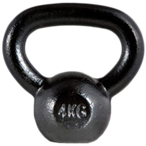 ボディメーカー(BODYMAKER) ケトルベル 4kg (4kg〜40kg) 錆びない 重り ダンベル 筋トレ 鉄アレイ ウエイトトレーニング