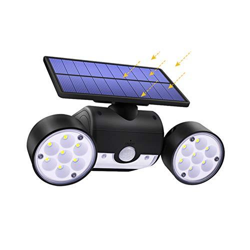 WWMH Solarlampen füR AußEn Mit Bewegungsmelder Wasserdicht Ip65 Solarleuchte Garten 360° Drehbar Solar Wandleuchte Aussen Sicherheit und Diebstahlsicherung füR Outdoor,Wand,Garten
