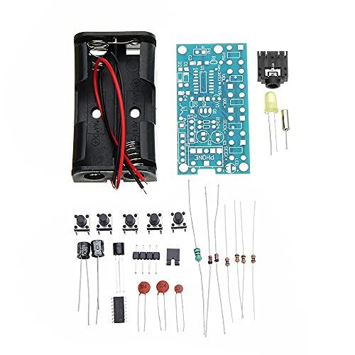 Módulo electrónico 3pcs receptor de audio estéreo PCB DC 1.8V 3.6V for DIY 76MHz for 108MHz inalámbrico de FM Radio Módulo kits de aprendizaje Equipo electrónico de alta precisión