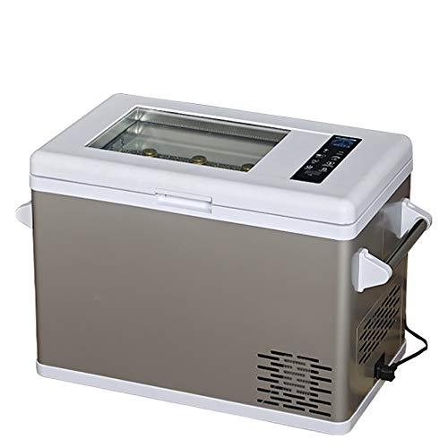 HDZ-L Mini refrigerador del refrigerador y el calentador, la absorción de choque del compresor, Luz de arranque y operación suave, un funcionamiento silencioso y rápido enfriamiento consume menos ener