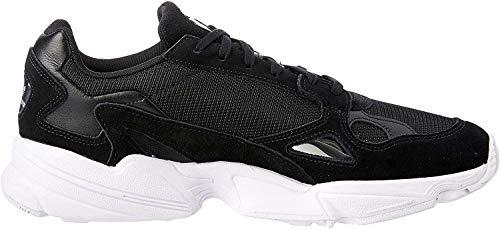 adidas Falcon W, Running Shoe Womens, Core Black/Core Black/Footwear White, 38 EU