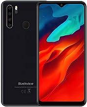 Blackview A80 Pro Teléfono Móvil Libres 4G, Pantalla HD + de 6.49'', Helio P25 4GB + 64GB, Cuatro Cámaras Traseras, Batería 4680mAh, Grosor de 8.8 mm, Smartphone Android 9.0 Dual SIM, GPS Negro