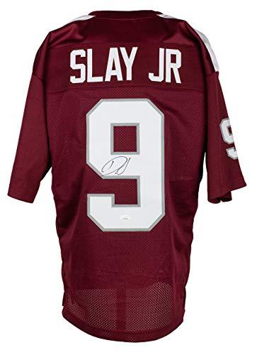 Darius Slay Autographed Signed Custom Maroon College Style Football Jersey JSA ITP