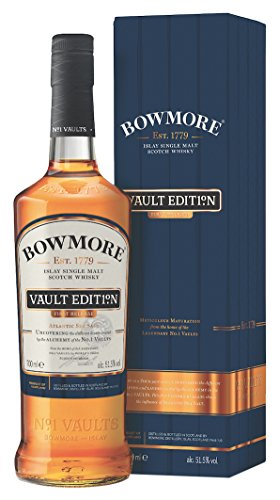 Bowmore Vault Edition First Release Islay Single Malt Whisky mit Geschenkverpackung (1 x 0.7 l)