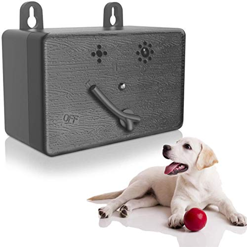 XIAXIA Anti-Bell Gerät, Antibellhalsband, Sicher Hundetrainingsgerät Abschreckung Antibellen, Wiederaufladbarer Erziehungshalsband Hundebellen Abschreckung, Halsband Hundetraining