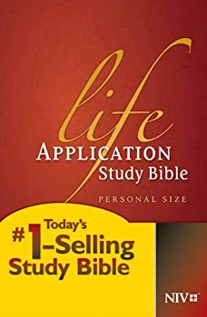 NIV Life Application Study Bible Second Edition Personal Size  Hardcover